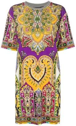 Etro printed T-shirt dress