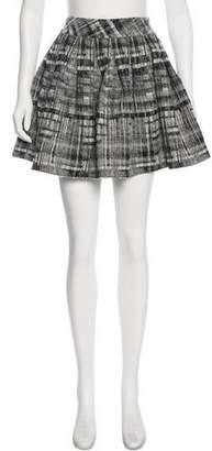 Alice + Olivia Patterned Mini Skirt