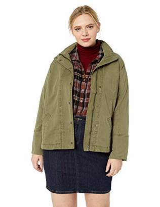 Lucky Brand Women's Plus Size Vicky Lightweight Utility Jacket