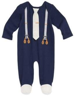 Baby Boy's Suspender Footed Coverall