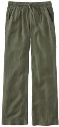 L.L. Bean L.L.Bean Women's Premium Washable Linen Pull-On Pants
