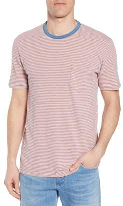 Faherty Stripe Pocket T-Shirt