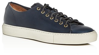 Buttero Tanino Cap Toe Lace Up Sneakers $305 thestylecure.com