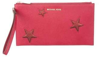 MICHAEL Michael Kors Peek a Boo Large Zip Clutch
