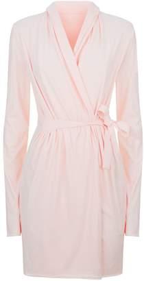 Skin Double Layer Cotton Robe