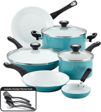 Farberware Purecook Ceramic Nonstick Cookware 12Pc Cookware Set