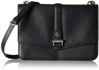 LK Bennett Belle, Women's Shoulder Bag, Schwarz (Bla-black), 4x13x20 cm (B x H T)