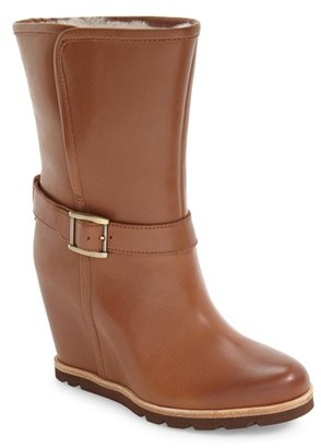 UGG ® 'Ellecia' Wedge Boot (Women) $184.95 thestylecure.com