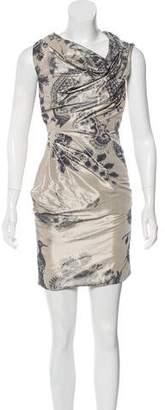 AllSaints Off-The-Shoulder Asymmetric Dress