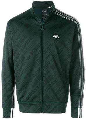 Adidas Originals By Alexander Wang Jacquard track jacket