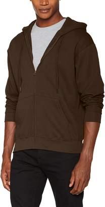 Fruit of the Loom Mens Zip Through Hooded Sweatshirt / Hoodie (XL)