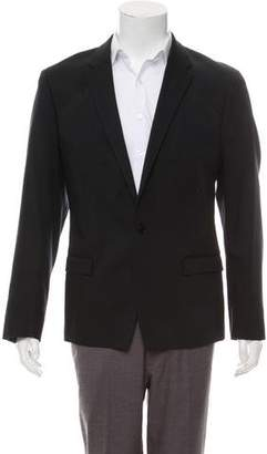 Theory Wool One-Button Blazer