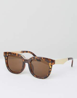 AJ Morgan Tortoise Oversized Square Sunglasses $19 thestylecure.com