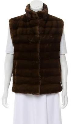Bergdorf Goodman Mink Fur Vest