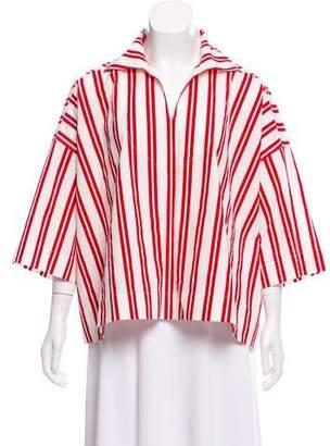 Balenciaga Striped Oversize Top