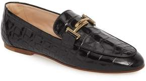 Tod's Double-T Printed Loafer