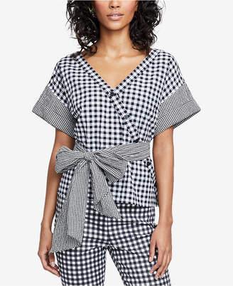 Rachel Roy Calle Printed Wrap Top, Created for Macy's