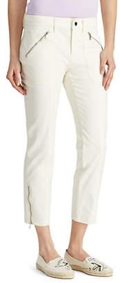 Lauren Ralph Lauren Skinny-Fit Logo Ankle Pants