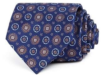 Bloomingdale's The Men's Store at Floral Medallion Silk Classic Tie - 100% Exclusive