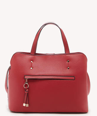 Sole Society Women's Deana Satchel Vegan Leather In Color: Red Bag From