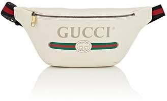 Gucci Men's Logo Leather Belt Bag