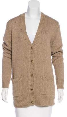 Michael Kors V-Neck Knit Cardigan