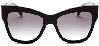 Moschino Women's 011 Square Sunglasses, 54mm