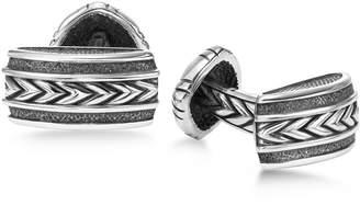 Scott Kay Men's Engraved Chevron Cuff Links in Sterling Silver