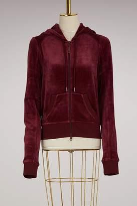 FENTY PUMA by Rihanna Velvet fitted zip up track jacket
