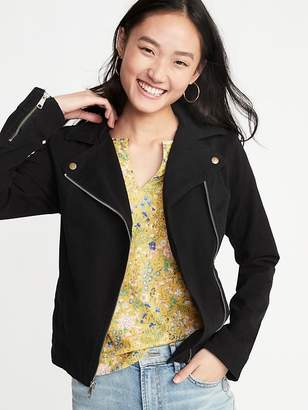 Old Navy Twill Moto Jacket for Women