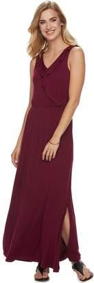 Apt. 9 Women's Ruffle Maxi Dress