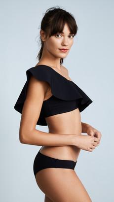 95f104ba8ef Ruffle One Shoulder Bikini Top - ShopStyle Australia