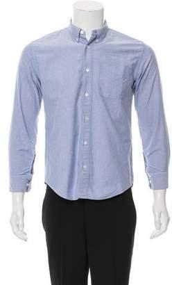 Visvim Woven Button-Up Shirt