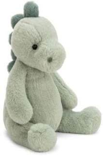 Jellycat Kid's Puffles Dino Plush Toy
