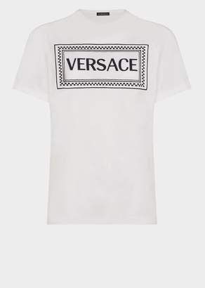 Versace 90s Vintage Logo Oversize T-Shirt