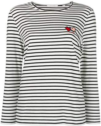 Parker Chinti & striped longsleeved T-shirt