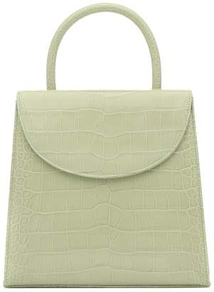 BY FAR Tamara croc-effect leather tote