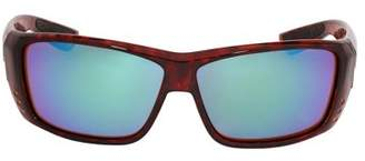 Costa del Mar Costa Cat Cay Plastic Frame Green Mirror Lens Unisex Sunglasses AT10OGMGLP