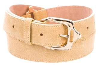 Burberry Suede Waist Belt