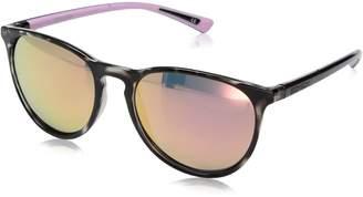 Body Glove Women's Cloudbreak Mirror Polarized Round Sunglasses