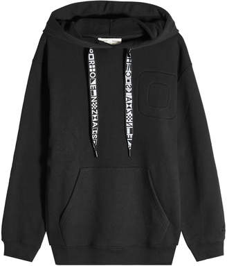 PSWL Cotton Hoody with Printed Drawstrings