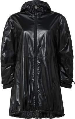 Prada hooded caban jacket