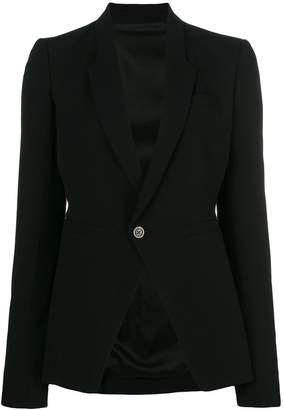 Rick Owens classic fitted blazer