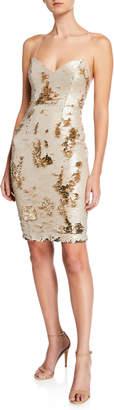 Astr Francesca Reversible Sequin Strappy Bodycon Dress