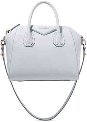Givenchy - Antigona Small Textured-leather Tote - Sky blue $2,290 thestylecure.com