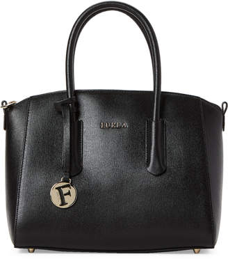 Furla Onyx Tessa Small Leather Satchel