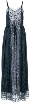 Chloé panelled drawstring dress