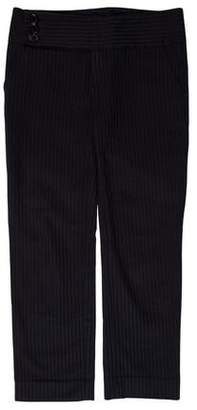 Marc by Marc Jacobs Mid-Rise Stripped Pants