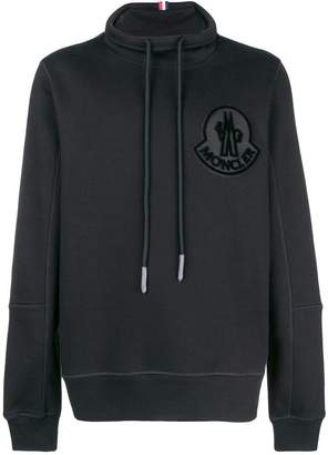 Moncler funnel neck sweatshirt