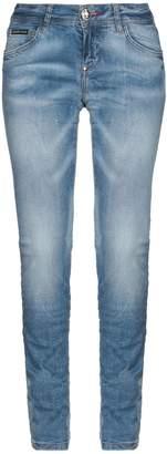 Philipp Plein Denim pants - Item 42720055RQ